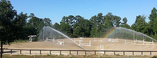 Watering Hilltop Arena